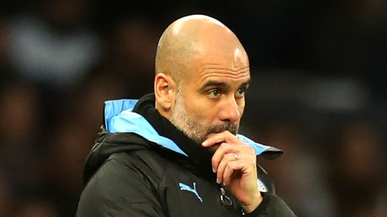 Pep Guardiola is more focused on winning trophies this season than planning the look of his squad for the next campaign