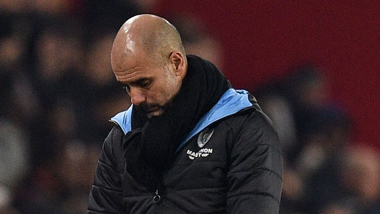 Pep Guardiola has been in charge at the Etihad since 2016, and his contract expires at the end of next season