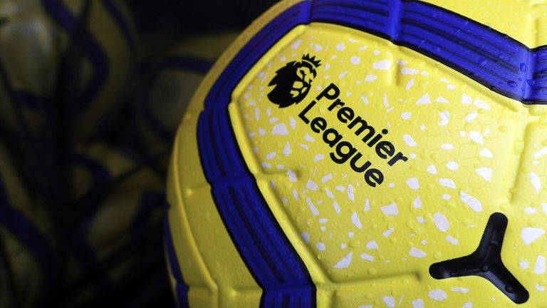 Detailed view of the Nike Merlin Winter match ball