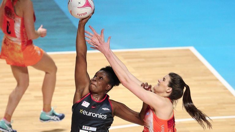 Razia Quashie shone for Saracens Mavericks in Birmingham