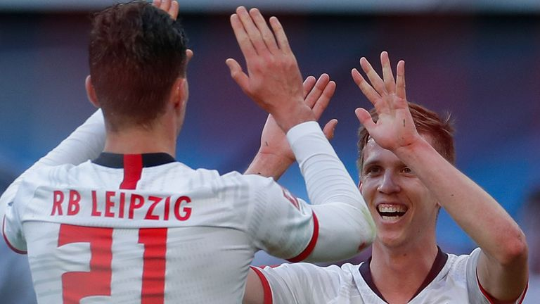 RB Leipzig reclaimed top spot in the Bundesliga on Saturday