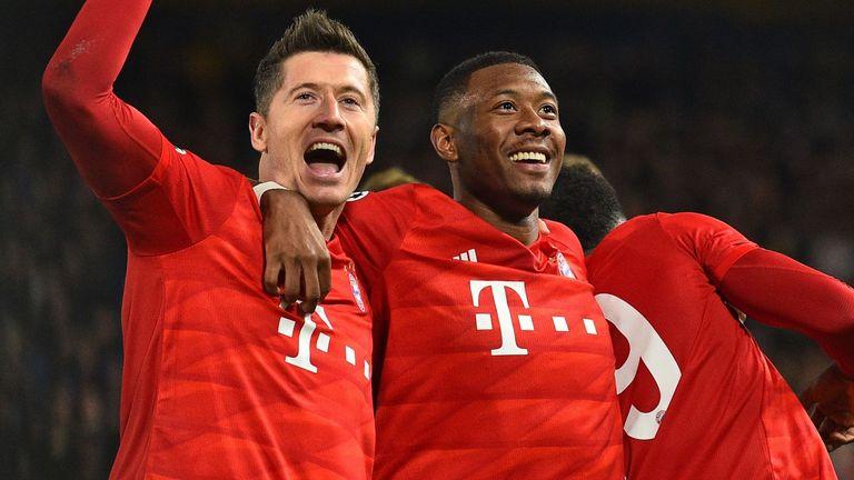 ผลการค้นหารูปภาพสำหรับ Bayern Munich striker Robert Lewandowski to miss Chelsea second leg with injury