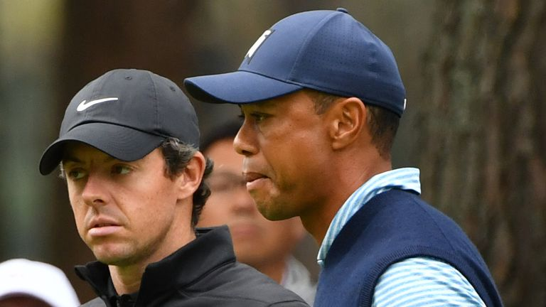 Woods and McIlroy could have a big influence on players' attitudes when golf returns