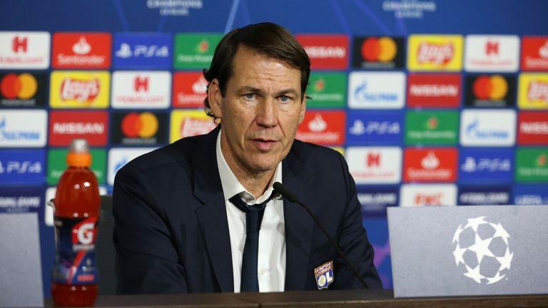 Lyon head coach Rudi Garcia admits Juventus are favourites to progress
