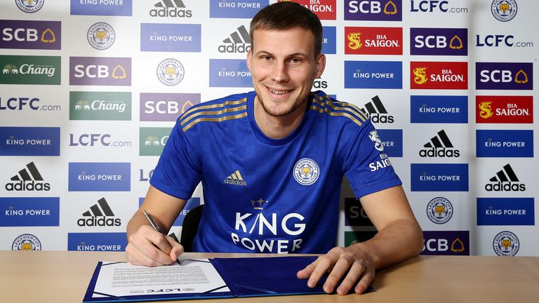 Leicester City unveil new loan signing Ryan Bennett