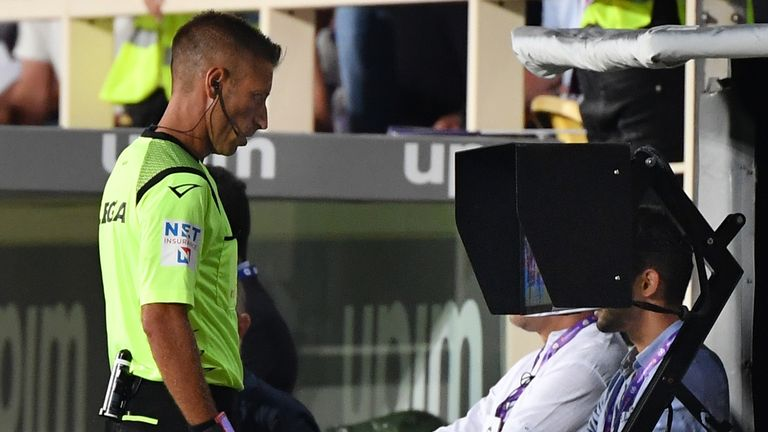 Serie A introduced VAR at the start of the 2017/18 season