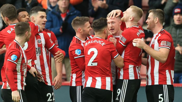 John Lundstram's late winner against Bournemouth sent Sheffield United fifth in the Premier League