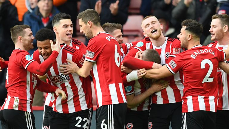 Sheffield United could secure European football for the first time in their history