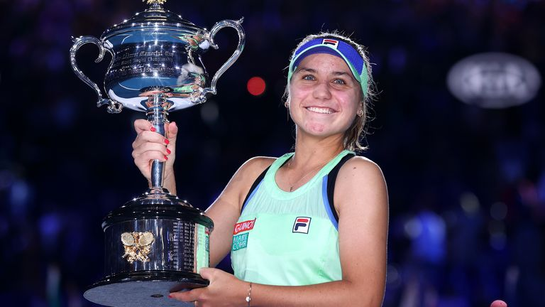 Sofia Kenin won this year's Australian Open at the age of 21, becoming the youngest champion in Melbourne since Maria Sharapova in 2008