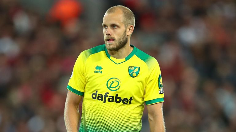 Teemu Pukki scored against Liverpool in the 4-1 defeat at Anfield on the opening day of the season
