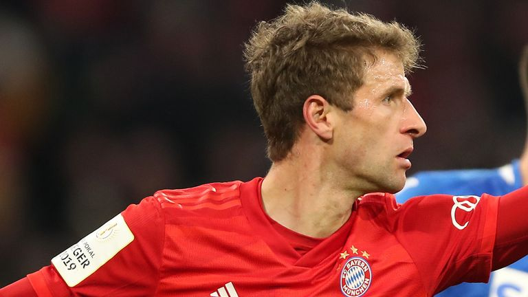 Thomas Muller also netted for Bayern in the cup