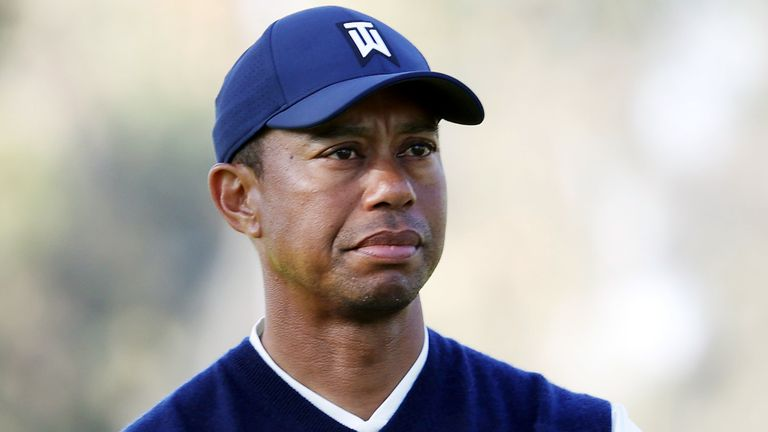 To hear Tiger Woods say 'golf is not important right now' is a significant statement