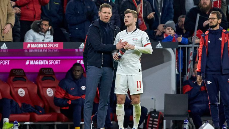 Jose Mourinho will come up against Julian Nagelsmann and Timo Werner in the Champions League