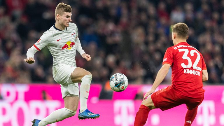 Werner has fired Leipzig into a title race with Bayern Munich