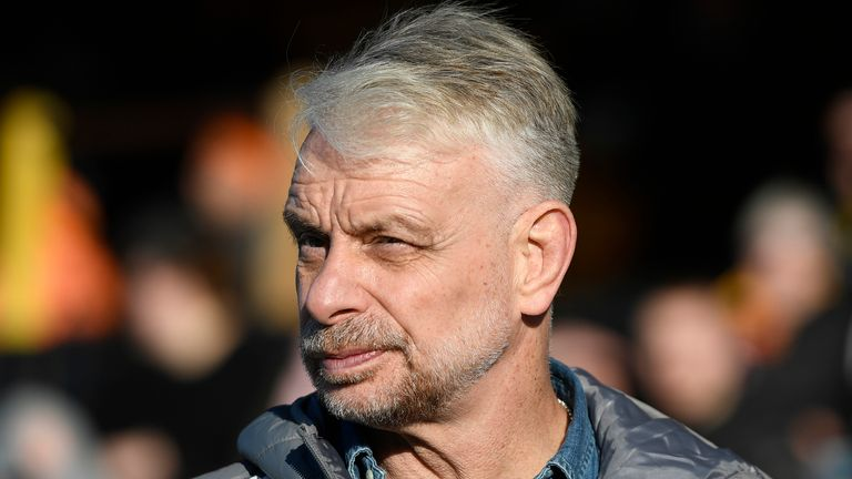 Brian Noble has left his role as director of rugby at Toronto Wolfpack