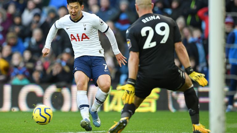 Son Heung-min leaves it late