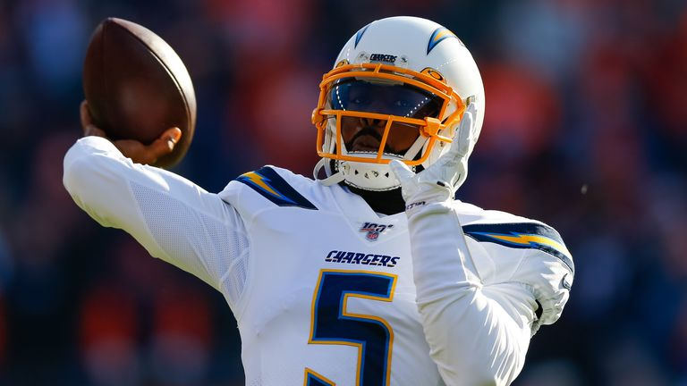 Tyrod Taylor completed four of six passes for 33 yards and a touchdown in eight appearances last season