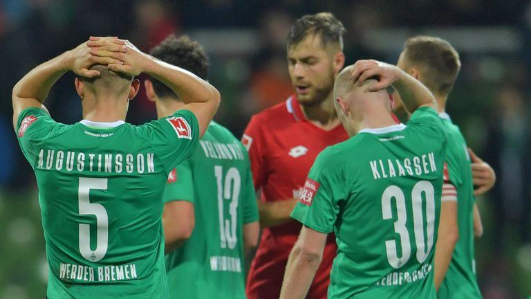 Could top-flight regulars Werder Bremen be relegated this season?