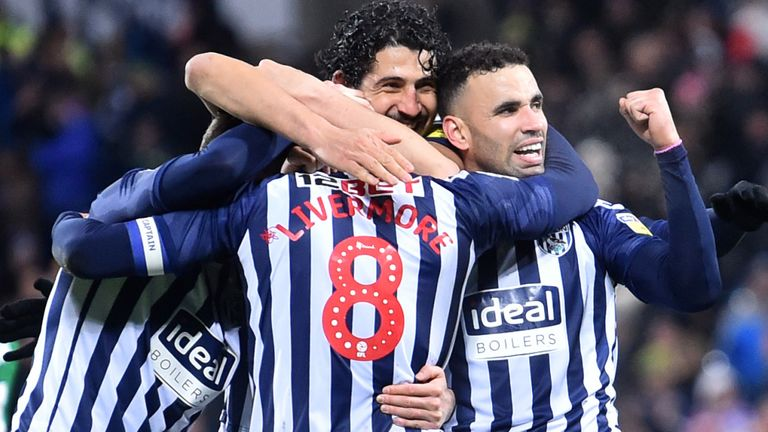 Championship highlights and round-up: West Brom extend lead, Brentford beaten
