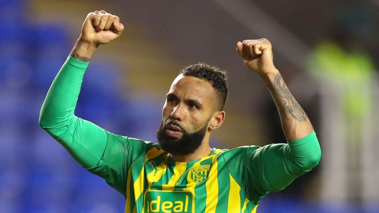 Kyle Bartley scored the winner for West Brom at Reading