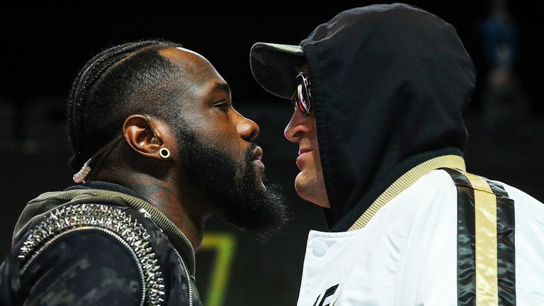 Wilder and Fury meet in their rematch in Las Vegas on Saturday