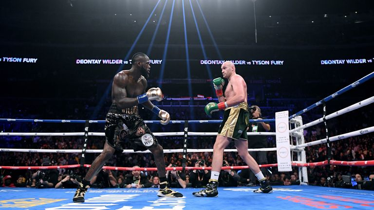 Wilder and Fury fought to a classic draw in December 2018