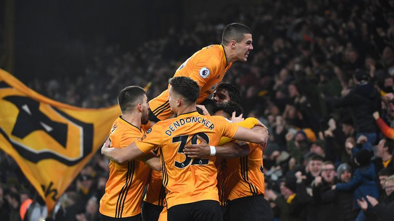 Nuno has hailed the atmosphere at Molineux stadium