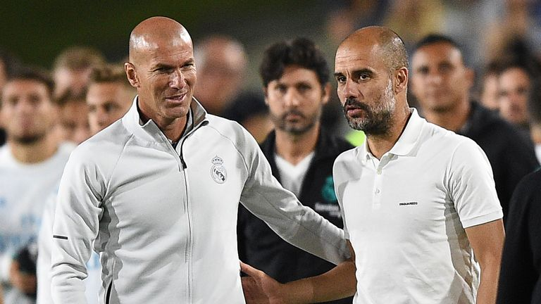 Pep Guardiola has faced Real Madrid 17 times as a manager