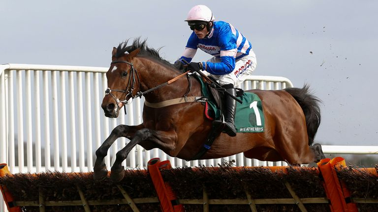 Solo - proved too good at Kempton