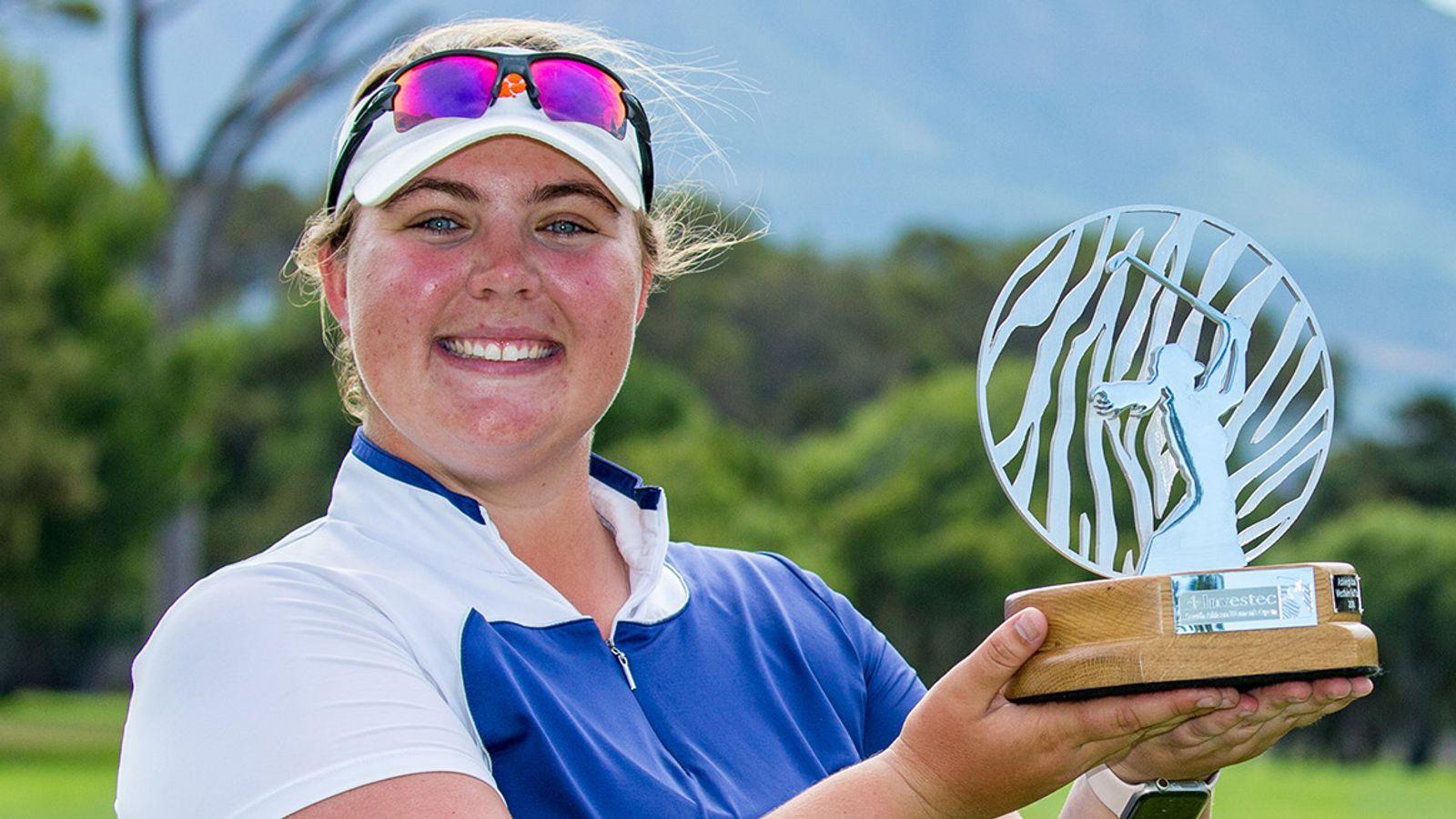 Gira Europea de Damas: Alice Hewson gana el Abierto Femenino de Sudáfrica | Noticias de golf 18