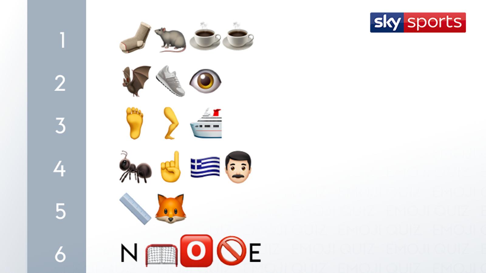 Emoji Quiz: ¡nombra ese jugador de fútbol! El | Noticias de futbol 57