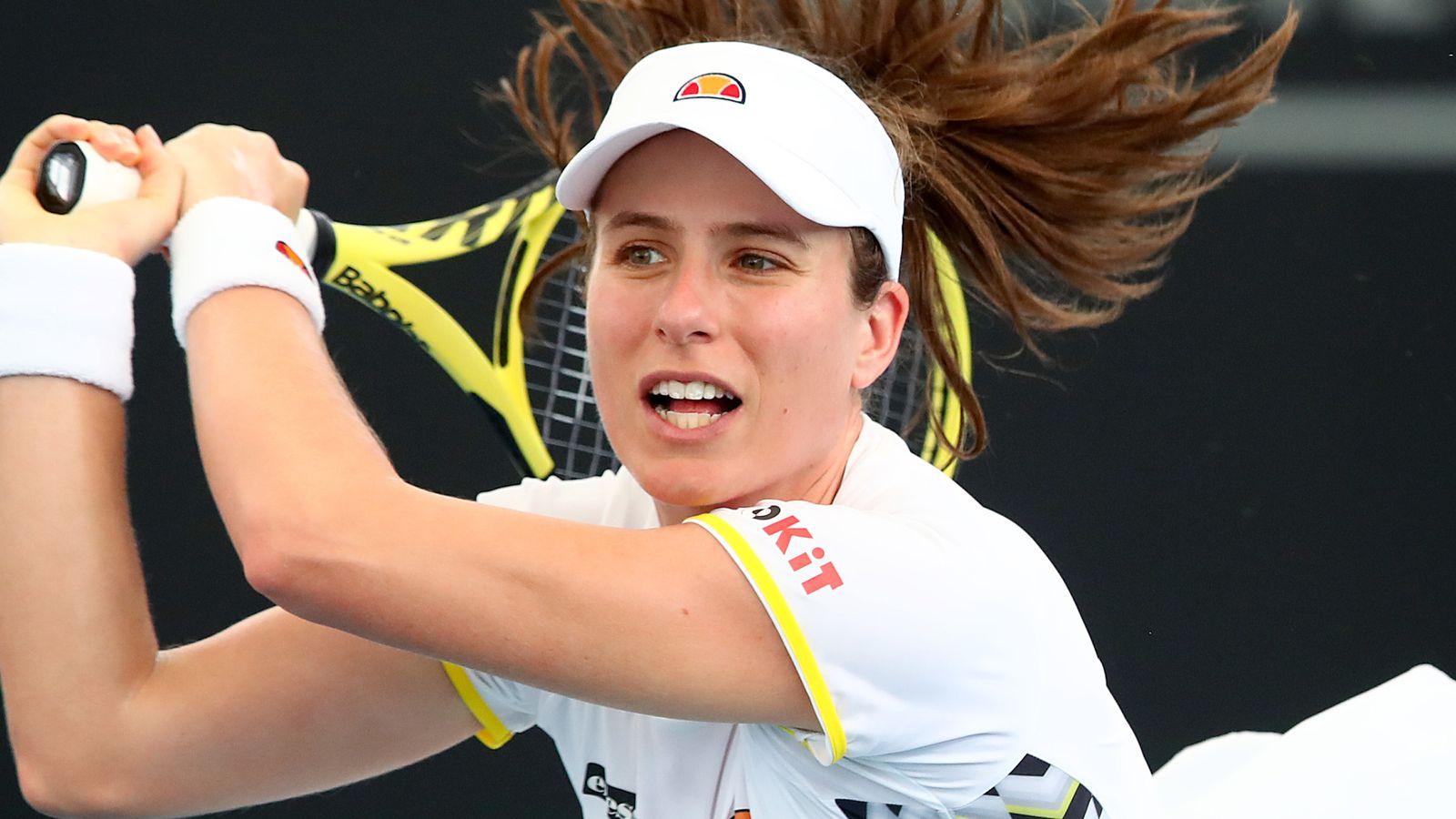 Johanna Konta through to semi-finals of the Monterrey Open