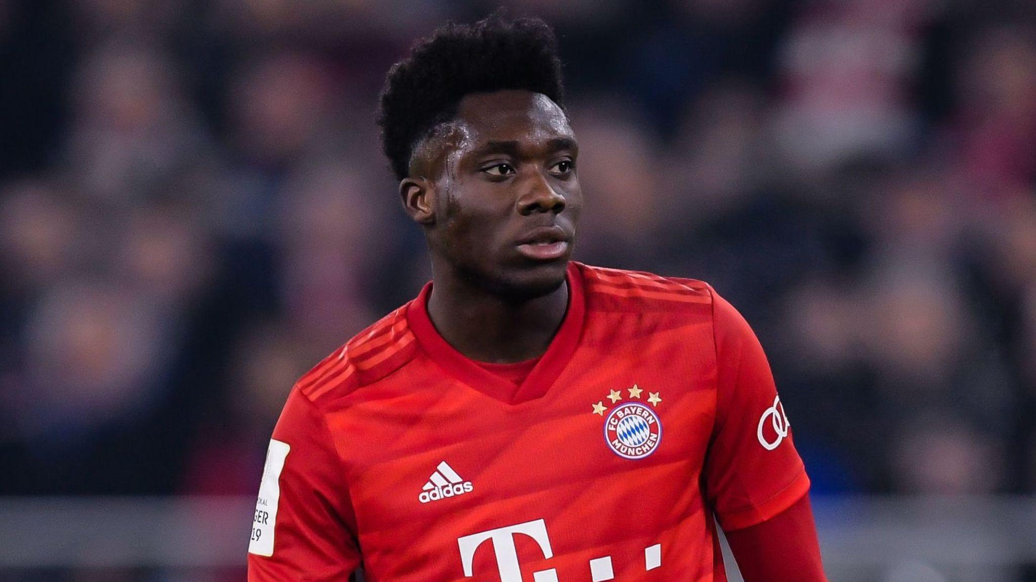 Alphonso Davies: From refugee fleeing war and starvation to Bayern Munich  star | Football News | Sky Sports