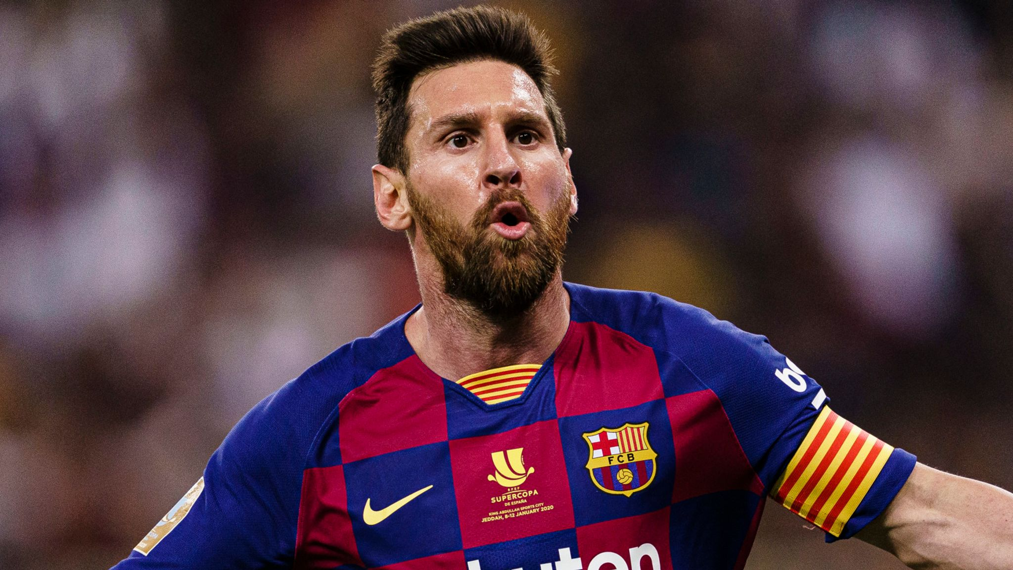 Get Messi Beard Wallpaper JPG