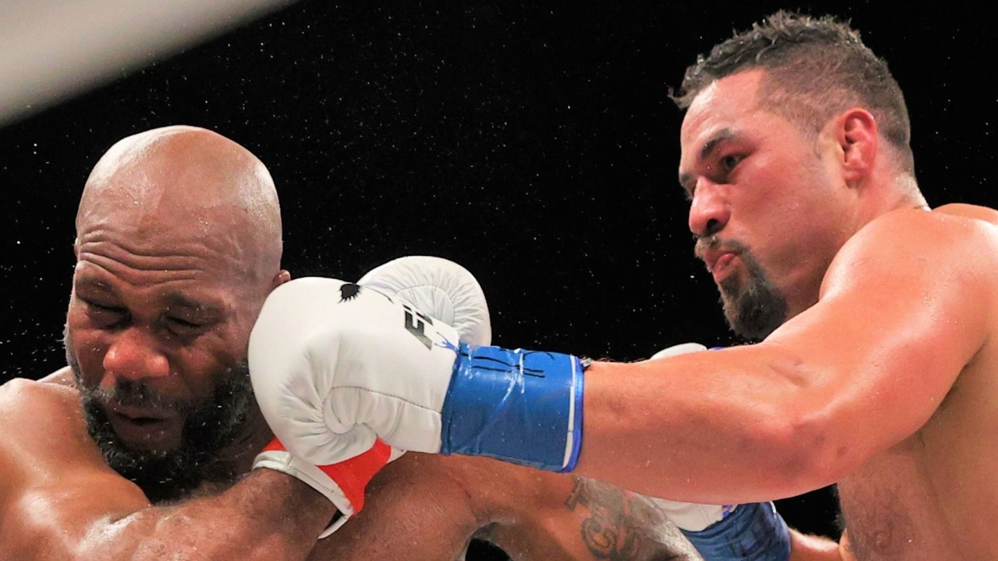 Alexis Texas Boxing joseph parker pounds shawndell winters to a halt in fifth