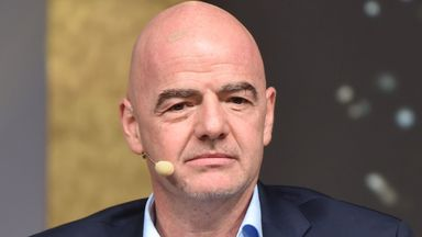 fifa live scores - FIFA president Gianni Infantino calls for salary-cap andtransfer-fee talks