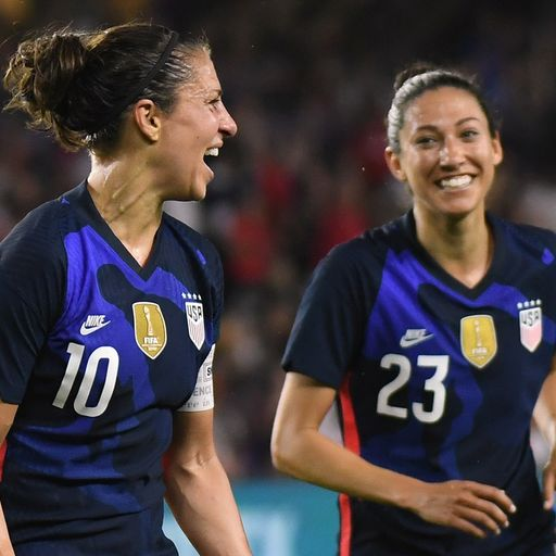 USA outclass Lionesses in opener