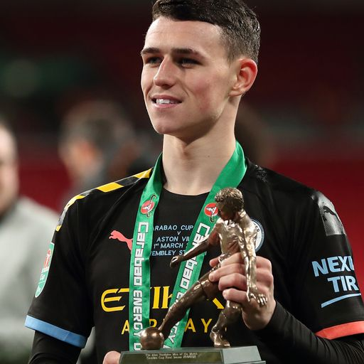 Foden shines in City's cup final win
