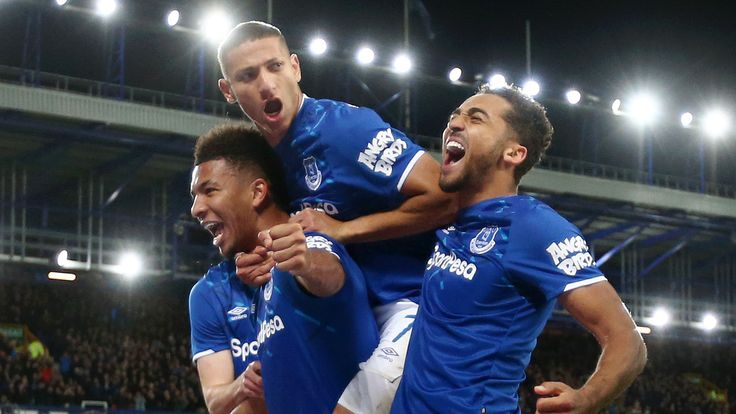 Mason Holgate, Dominic Calvert-Lewin and Richarlison are the front-runners