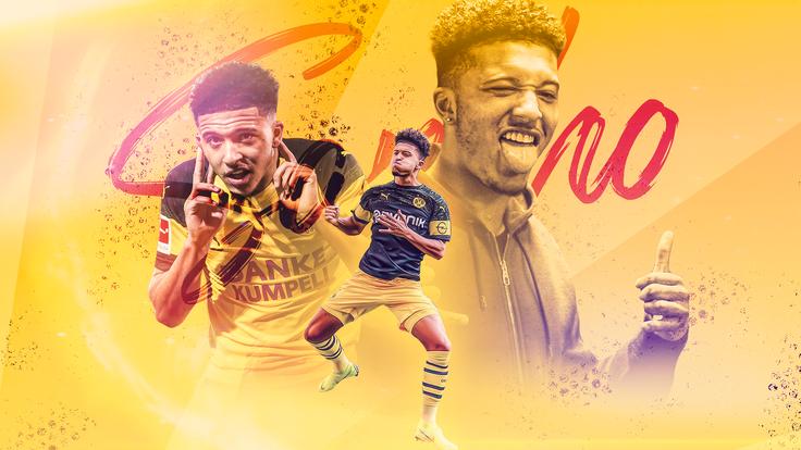 Jadon Sancho has thrived since joining Borussia Dortmund