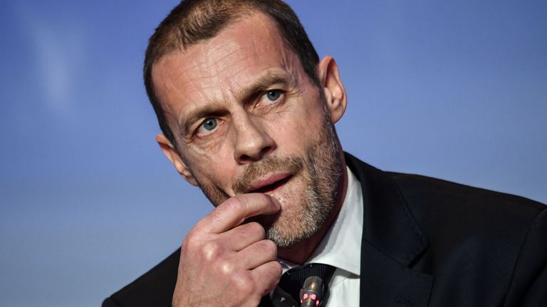 UEFA president Aleksander Ceferin will chair the meeting of the 55 national associations