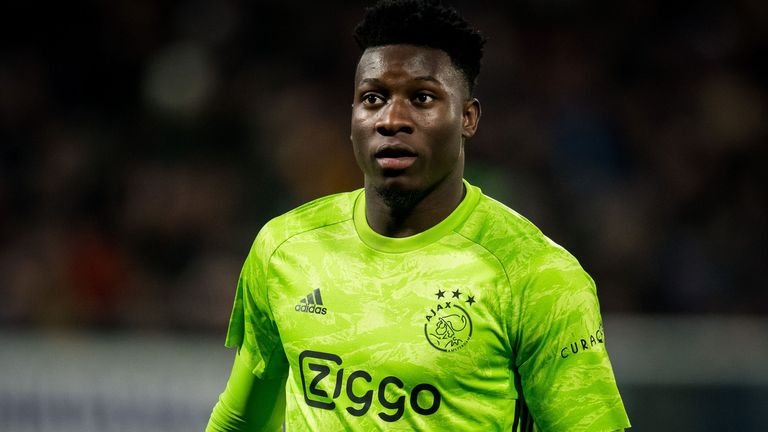 Chelsea are lining up a move for Ajax goalkeeper Andre Onana