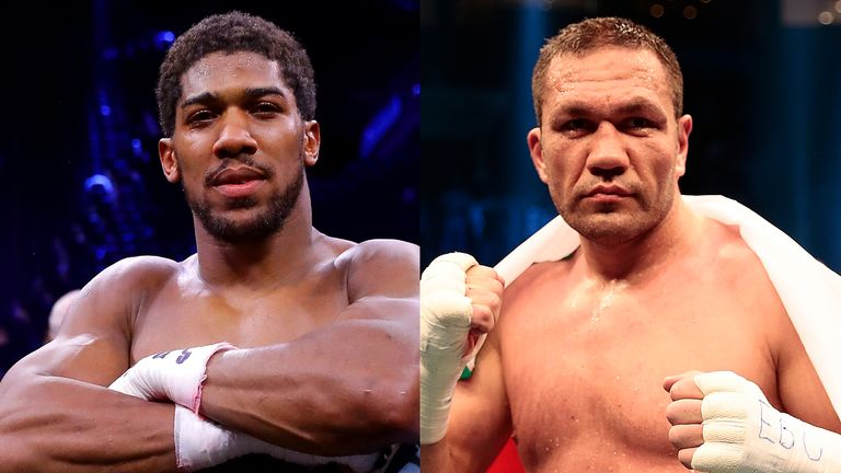 Anthony Joshua will make next defence of world titles against Kubrat Pulev
