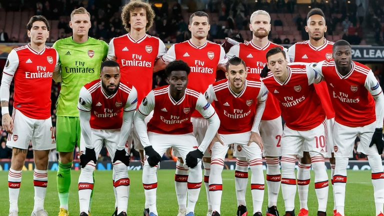 Arsenal players, coaching staff agree coronavirus pay cut