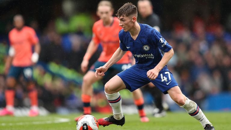 Billy Gilmour impressed for Chelsea against Everton