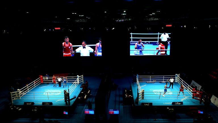 Olympic boxing qualifiers continued despite other sports being cancelled