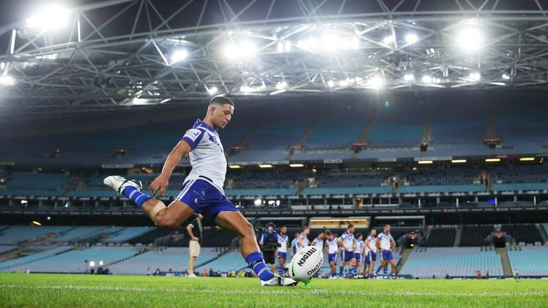 The Canterbury Bulldogs and the North Queensland Cowboys kicked off Round 2 behind closed doors