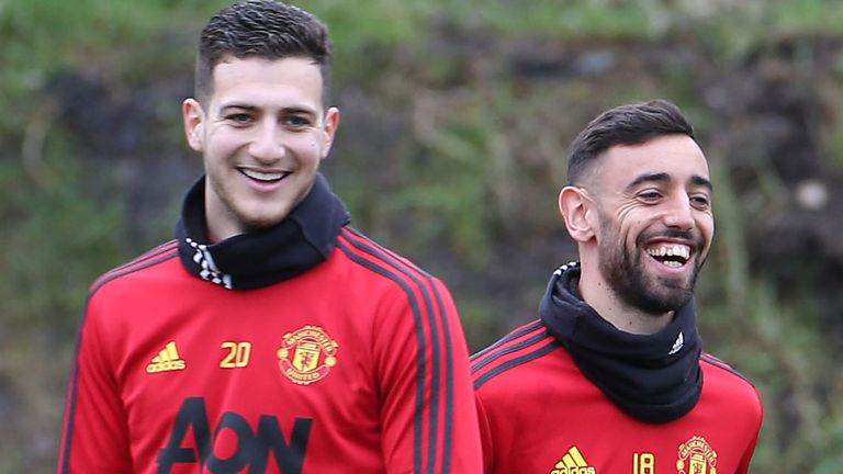 Bruno Fernandes has developed a close relationship with Diogo Dalot since his arrival