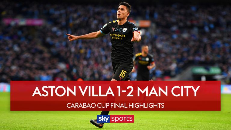 Highlights from the Carabao Cup Final.