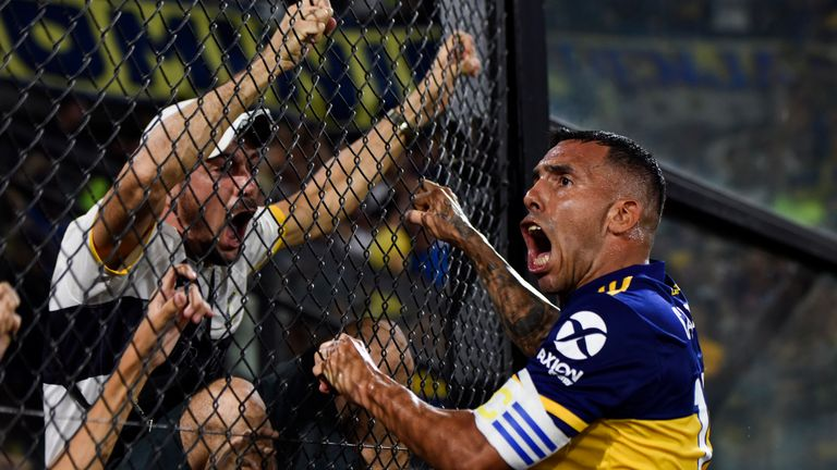 BUENOS AIRES, ARGENTINA - MARCH 07: during a match between Boca Juniors and Gimnasia as part of Superliga 2019/20 at Estadio Alberto J. Armando on March 8, 2020 in Buenos Aires, Argentina. (Photo by Rodrigo Valle/Getty Images)
